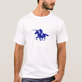 Camiseta Carregamento americano da cavalaria retro