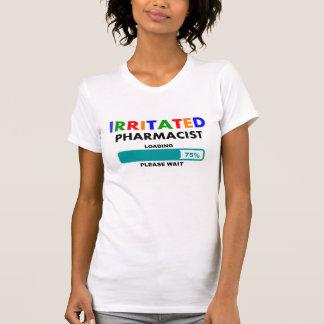 Camiseta Carregamento divertido dos t-shirt do farmacêutico