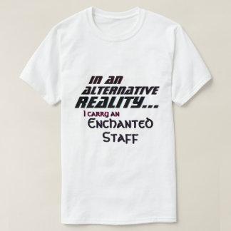 Camiseta Carregar alternativo da realidade uns funcionarios
