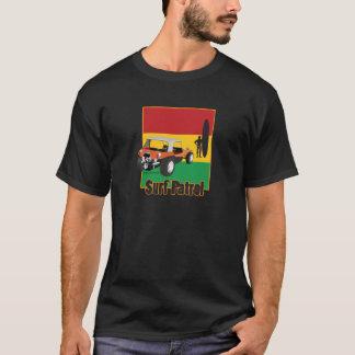 Camiseta Carrinho jamaicano de Rasta Surfpatrol