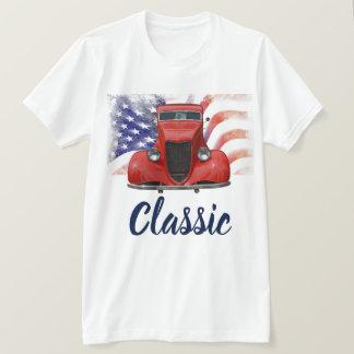 Camiseta Carro 1934 vermelho clássico