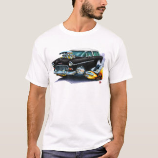 Camiseta Carro 1955 do preto do nómada de Chevy
