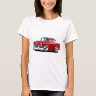 Camiseta Carro 1955 do vermelho de Chevy Belair