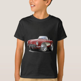 Camiseta Carro 1956-57 marrom de Corveta