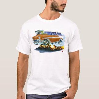 Camiseta Carro 1956 de Brown do nómada de Chevy