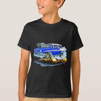 Camiseta Carro 1956 do azul do nómada de Chevy