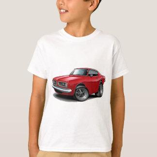 Camiseta Carro 1967-69 do vermelho do Barracuda