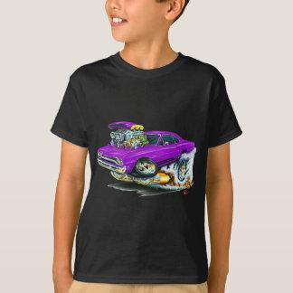 Camiseta Carro 1968-69 do roxo de Plymouth GTX