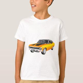 Camiseta Carro 1968 do músculo do ouro