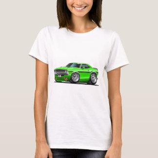 Camiseta Carro 1970-72 verde do desafiador