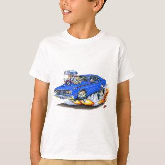 Camiseta Carro 1970-74 do azul do espanador de Plymouth