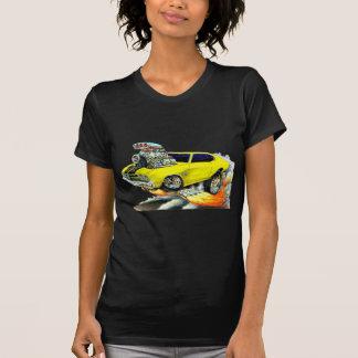 Camiseta Carro 1970 Amarelo-Preto de Chevelle