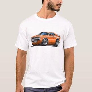 Camiseta Carro 1970 da laranja de Plymouth Cuda