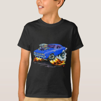 Camiseta Carro 1971-73 do azul de Cuda