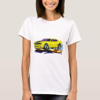 Camiseta Carro 2010 Amarelo-Preto de Camaro