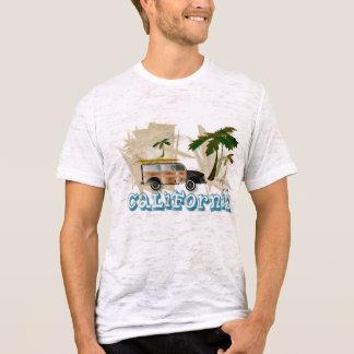 Camiseta Carro arborizado do vintage