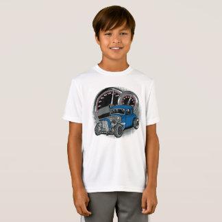 Camiseta Carro azul da rua de Rod do rato