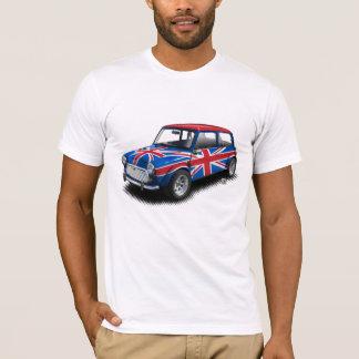 Camiseta Carro clássico de Union Jack mini no t-shirt