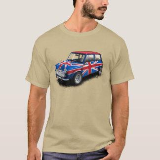 Camiseta Carro clássico de Union Jack mini no t-shirt de
