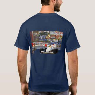 Camiseta CARRO DE CORRIDAS BRANCO - circuito da cidade