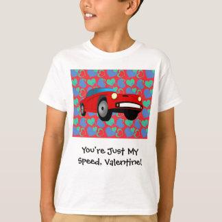 Camiseta Carro de corridas dos namorados