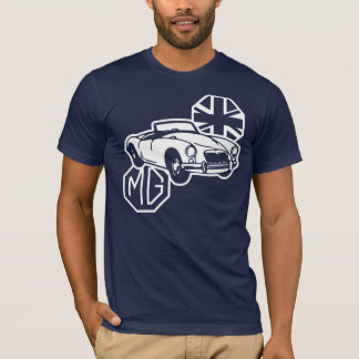 Camiseta Carro de esportes britânico clássico de MG MGA