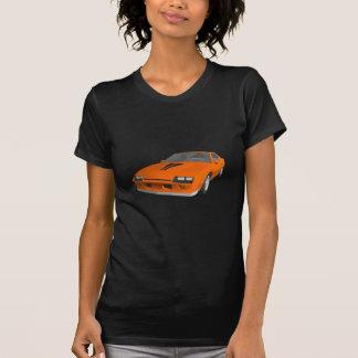 Camiseta carro de esportes de Camaro do anos 80: modelo 3D: