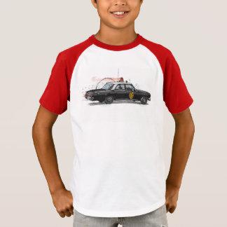 Camiseta Carro de polícia americano clássico