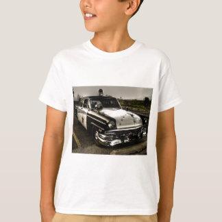Camiseta Carro de polícia do vintage
