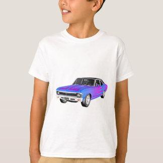 Camiseta Carro do músculo de 1968 AM em roxo e em azul