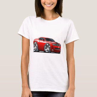 Camiseta Carro do vermelho do desafiador de Dodge