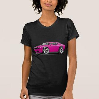 Camiseta Carro Fuschia-Preto do desafiador SRT8
