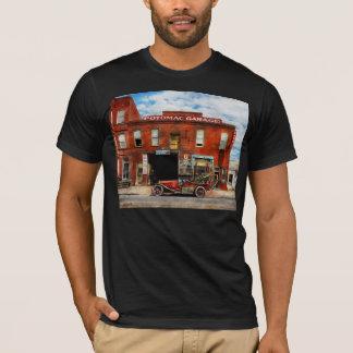 Camiseta Carro - garagem - garagem 1922 do desajuste