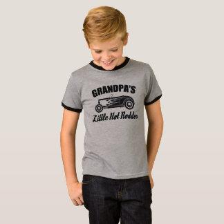 Camiseta Carro quente do neto do Rodder HotRod do vovô