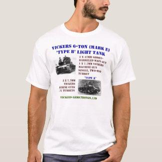 Camiseta Carros de combate leve de Vickers 6-Ton