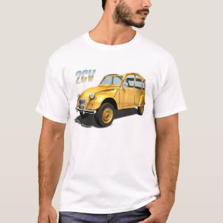 Camiseta Carros do culto - Citroen 2cv