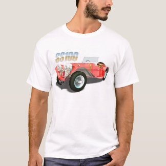 Camiseta Carros do culto - Jaguar SS100