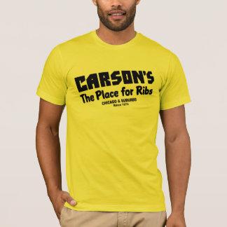 Camiseta Carson, o lugar para reforços, Chicago e subúrbios