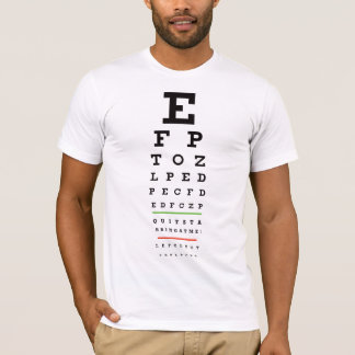 Camiseta Carta de olho - parada Starring em mim o t-shirt