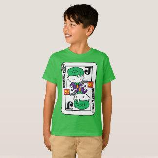 Camiseta Cartão de jogo do palhaço de Chibi