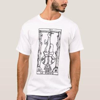 Camiseta Cartão de Tarot: Homem pendurado