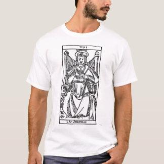 Camiseta Cartão de Tarot: Justiça