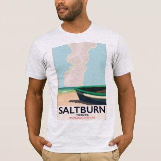 Camiseta Cartaz das viagens vintage de Saltburn - de