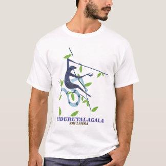 Camiseta Cartaz do viagem de Pidurutalagala Sri Lanka