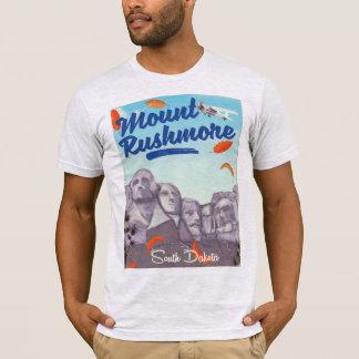 Camiseta Cartaz do viagem do estilo do vintage do Monte