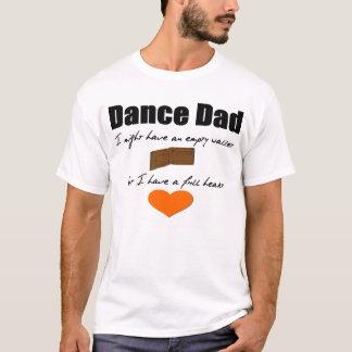 Camiseta Carteira vazia do paizinho da dança, coração