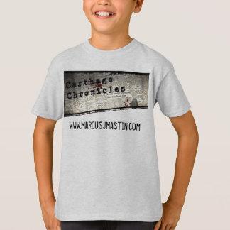 Camiseta Carthage cronica a juventude V.1