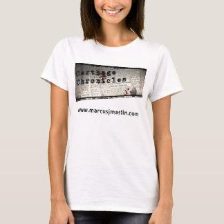 Camiseta Carthage cronica o T V.1 das senhoras
