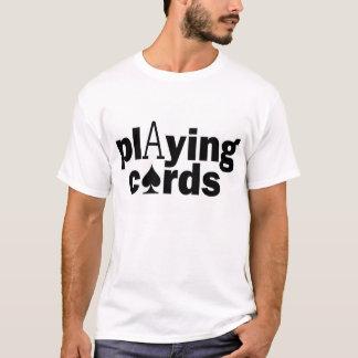 Camiseta Cartões de jogo
