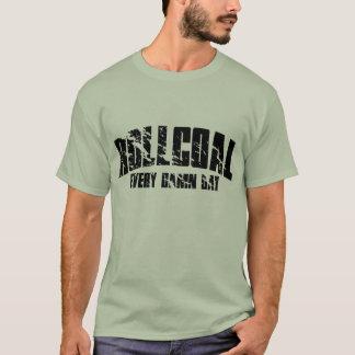 Camiseta Carvão do rolo cada dia